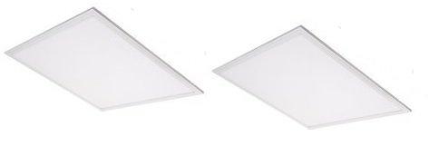 Ciata Lighting 2x2 LED Ulthra Thin Super Bright Flat Panel 40 Watt 5000K White Frame (2x2 - 2 Pack)