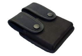 Double Pistol Mag Case/Dbl Row Kodra Blk Uncle Mikes 88361 -