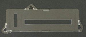 C3 Corvette 1978-1982 Lens for Heater & AC - Control Corvette Heater