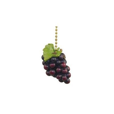 (Clementine Designs Tuscany Grapes Wine Lover Kitchen Fan Light Pull)