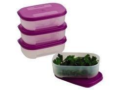 Tupperware Freezer Mates Herb Saver Set