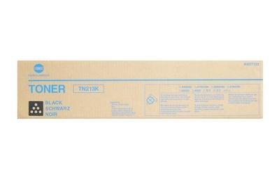 Konica Minolta A0D7132 ( Konica Minolta TN213K ) Laser Toner Cartridge, Works for bizhub C203, bizhub C253 ()