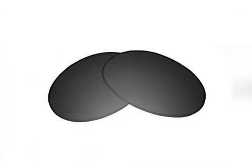 SFx Replacement Sunglass Lenses fits Tom Ford Jennifer FT0008 61mm Wide (Ultimate Black Gradient Hardcoat Pair-Polarized)