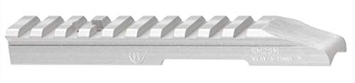 Weigand Ruger Mark I, II, III, IV & 22/45 No Drill and Tap Scope Mount (Silver) (Best Scope For Ruger Mark Iv)