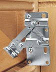 Plastic Sink Tip-Out Tray Hinges Pivot Hinges and Hinges/End Cap Sets