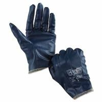 Hynit Nitrile-Impregnated Gloves, 7.5, Gray, Sold as 12 -