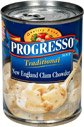 Progresso New England Clam Chowder Soup, 18.5 OZ (6 Pack) (Progresso New England Clam)