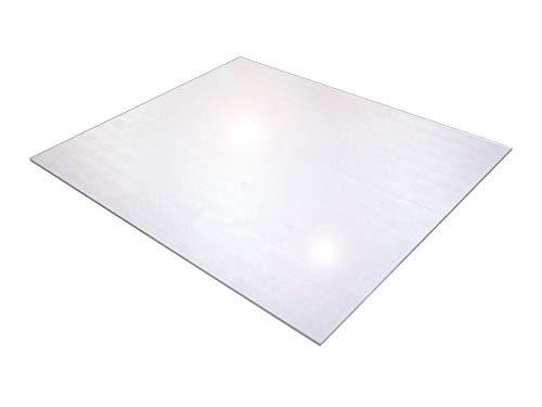- Cleartex XXL General Office Mat, Rectangular, Strong Polycarbonate, For Carpets, Size 60