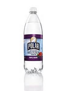 Polar 100% Natural Seltzer Water, Triple Berry, 33.8 Fl Oz. (Pack of 3)