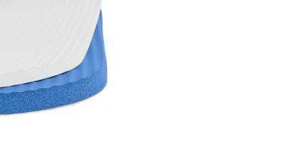 Trendy Sport ProfiGymMat therapy mat with eyelets blue 180 x 60 x 1.5 cm Training mat