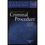 Principles of Criminal Procedure, Weaver, Russell L. and Abramson, Leslie W., 0314163298