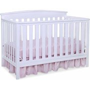 Delta Gateway 4-in-1 Fixed-Side Crib, White