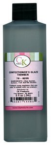 - CK Products Confectioners Glaze Thinner 8 oz.