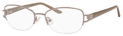 (Saks Fifth Avenue Saks Fifth Avenue 296 01N5 Coral Eyeglasses)