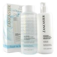 Lancaster by Lancaster Softening Duo ( Limited Edition ): Cleansing Milk 400ml + Toner 400ml--2pcs for Women