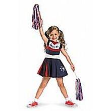 [Disguise Superstar Spirit Toddler Costume, 3T-4T] (Cheerleading Costumes Halloween)