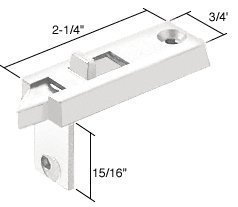 NEW 2 F-2642 Spring Loaded Sliding Window Tilt Latch White Prime-Line Products