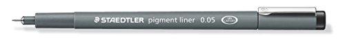 Staedtler Pigment Liner, 0.05mm, Black Ink (308-0.05)