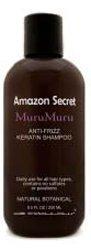 Amazon Series MuruMuru Anti-Frizz Keratin Shampoo (luxurious rich lather for normal to dry hair) Sulfate Free (33.8 fl oz) by de (Anti Frizz Dry Hair Shampoo)