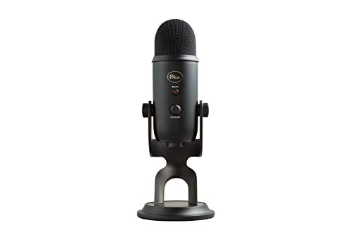 Blue Yeti USB Mic for Recording & Streaming on PC and Mac