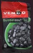 Imported Licorice - Venco Double Salt Licorice 6.1 Oz (Pack of 4)