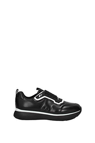 Nero Donna Pelle EU 3E6321NAPPA3 Prada Sneakers Xqw18WxC