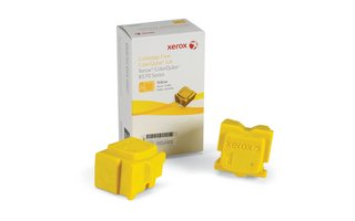Xerox Supplies – Genuine Solid Ink Yellow for ColorQube 8570 (2 sticks) – 108R00928, Office Central