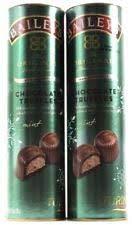 Turin Baileys Chocolate Mint Truffles, Non-Alcoholic, 7oz Tube - LOT of 2 ()