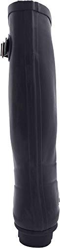 Calf Wellie Rainboots amp; and Solids 14 Hi Navy Matte Prints Hurricane Glossy Waterproof NORTY Matte Women's EAxqwaF7