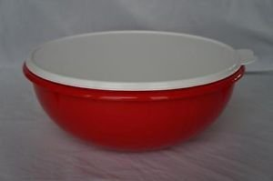 TUPPERWARE FIX-N-MIX BOWL RED by Tupperware