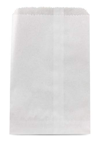 Hygloss Products Pinch Bottom Arts and Crafts Paper Bags - 6 x 9 Inch, White, 100 Pack -