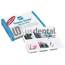 SHOFU - Super Snap Mini Kit 48 Assorted Disks - Kit -( #0505 ) Contai 111399 Us Dental Depot