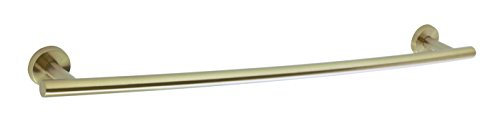Amerock Bronze Towel Bar (Amerock BH26544BBZ Arrondi 24 in (610 mm) Towel Bar in Brushed Bronze/Golden Champagne)