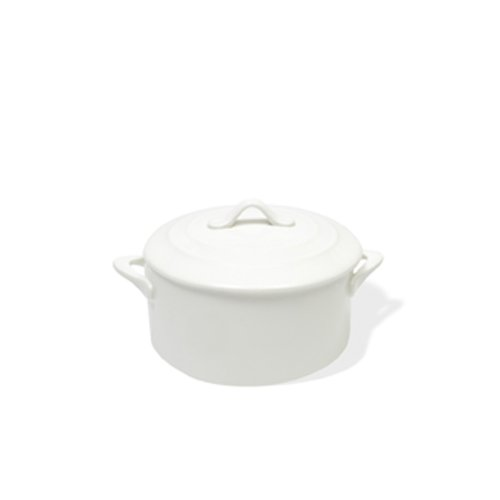 Maxwell and Williams TP72010 8.5-Ounce Basics Oven Chef Round Casserole, Mini, White