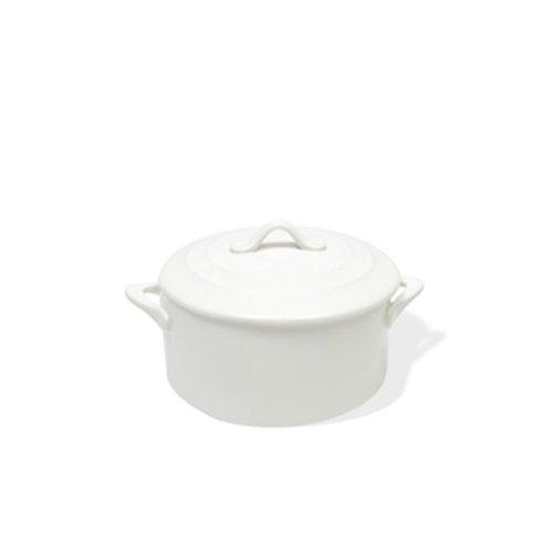 Maxwell and Williams TP72010 8.5-Ounce Basics Oven Chef Round Casserole, Mini, White