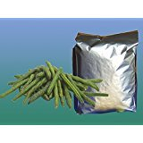Dried Green Bean Chips, 2.2 lbs Pack of 3