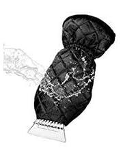 m zimoon Ice Scraper Mitt For Car, Thick Fleece Snow Scrapers Mitten Windscreen Scraper with Waterproof Antifreeze Glove Snow Removal for Car Windshield and Window