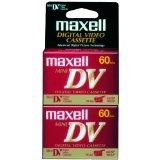 Maxell 298012 DVM60SE Mini Digital Video Cassette - 2 Pack