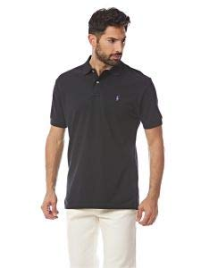 Polo Ralph Lauren Men Classic-Fit Mesh Polo (Small, RL Black) ()