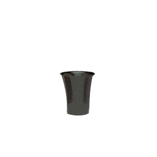 "Floralware 610FS Black 10 x 9"" Bucket - 6 / CS"