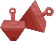 Seachoice Pyramid Anchor, 400 LB - 43960 - SEACHOICE boat anchor