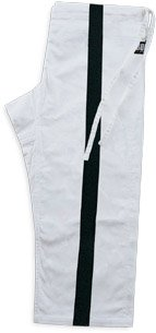 Heavyweight Karate Pants - SUPER HEAVYWEIGHT PANT with Black Stripe size 4