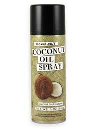 Trader Joes Coconut Cooking Spray