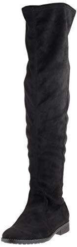 Du Femme Esprit black Stevy Noir dessus Overknee Bottes Au 001 Genou Bq7wOXx