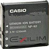 Casio NP-40 Battery for EXILIM Cameras, Model: NP-40, Electronic Store