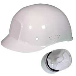 Occunomix V450-00 Vulcan Traditional Bump Cap with Suspension, White - Traditional Bump Cap
