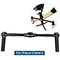 AGimbalGear DH02 Dual Handle Grip for Zhiyun Crane 2 Dual Handheld Extended Handle handgrips for Zhiyun Crane 2 3-Axis Gimbal Stabilizer