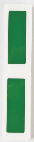 593 Label Cartridge - Label Cartridge, Green, Polyester, 3 In. W