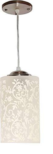 MBG Royal Fancy E27 Single Head Vintage Hanging Pendant Ceiling Light Lamp (White)