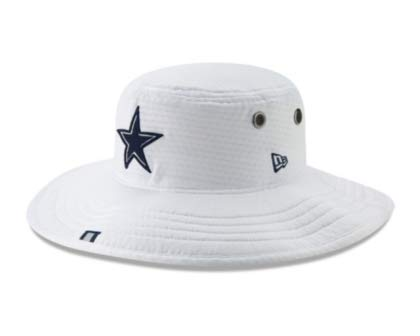 Dallas Cowboys New Era Mens Panama Training Bucket Hat -